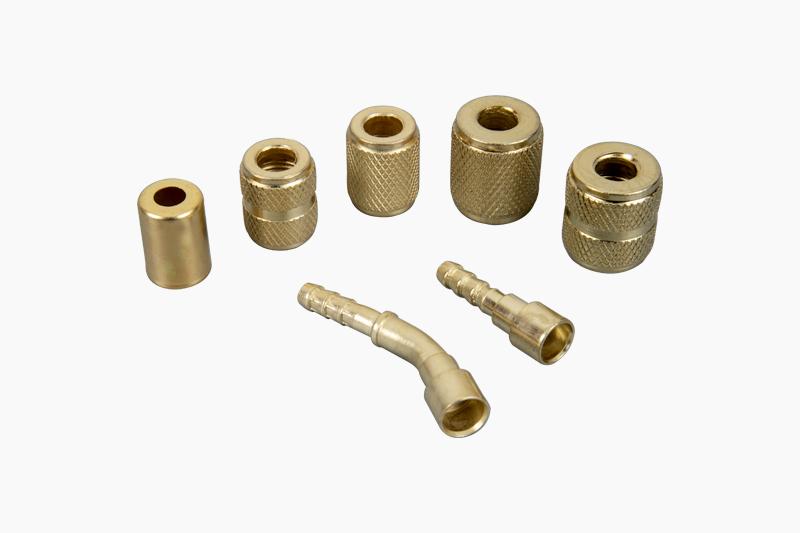 全铁冷媒加液管配件